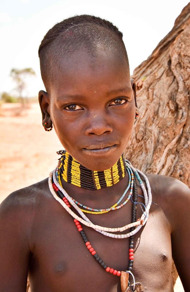 Hamar Girl  Ethiopia  Rod Waddington  Flickr-4019