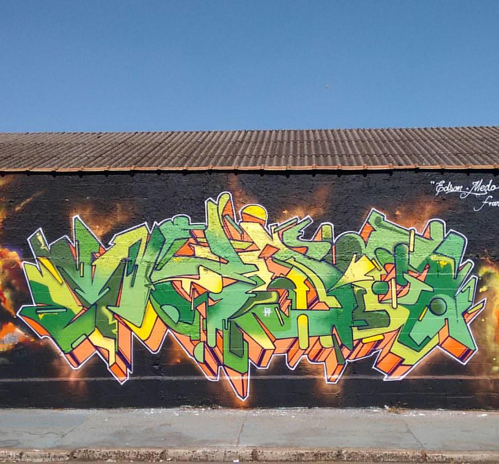 Franca-SP. #wildstyle #letter #graffiti #arte #graffite #l… | Flickr