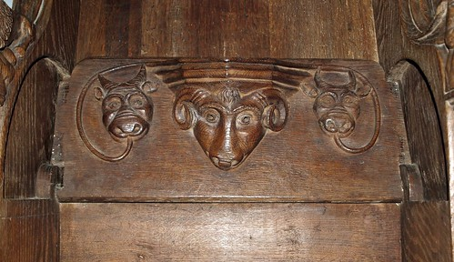 Chancel S misericord (1)