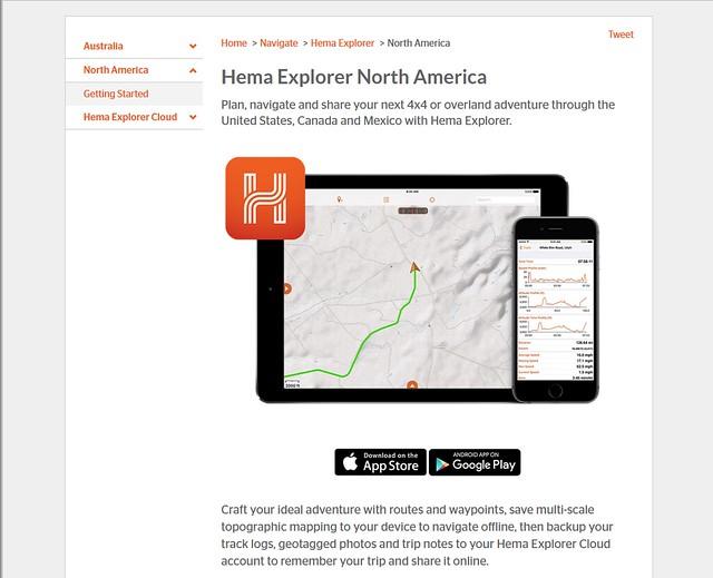 Hema Explorer North America