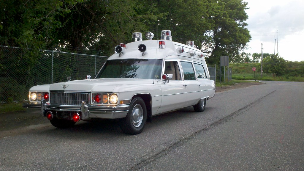 Ambulance For Sale >> 1973 Cadillac Miller-Meteor Lifeliner Ambulance | Stickers ...