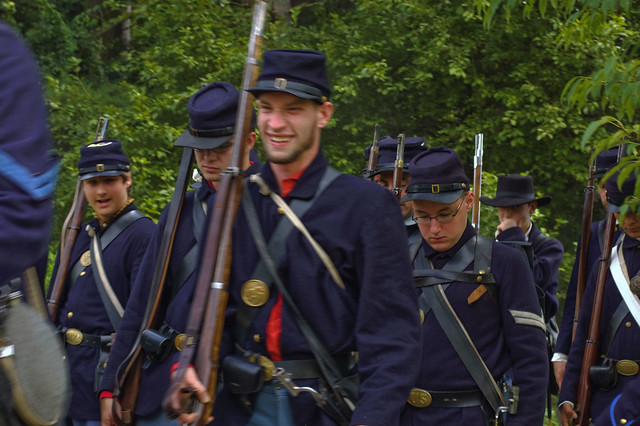 summertime event—one of the largest Civil War reenactments in Ohio