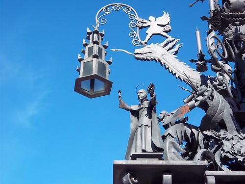Cruz de forja en la calle del santo cristo detalle prie - Forja en cordoba ...