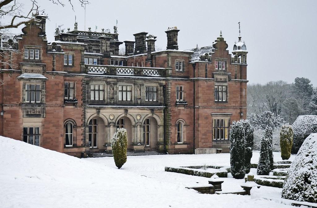Keele Hall In Winter Tolga Aksoy Flickr