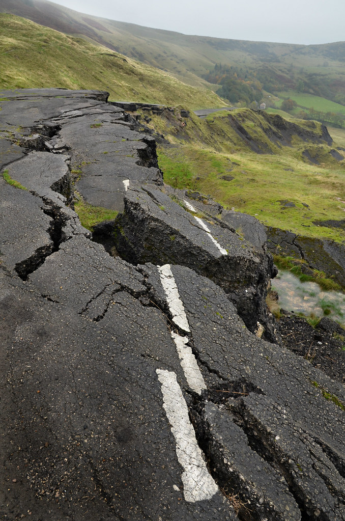 Mam Tor road | The state of Britain's roads ...