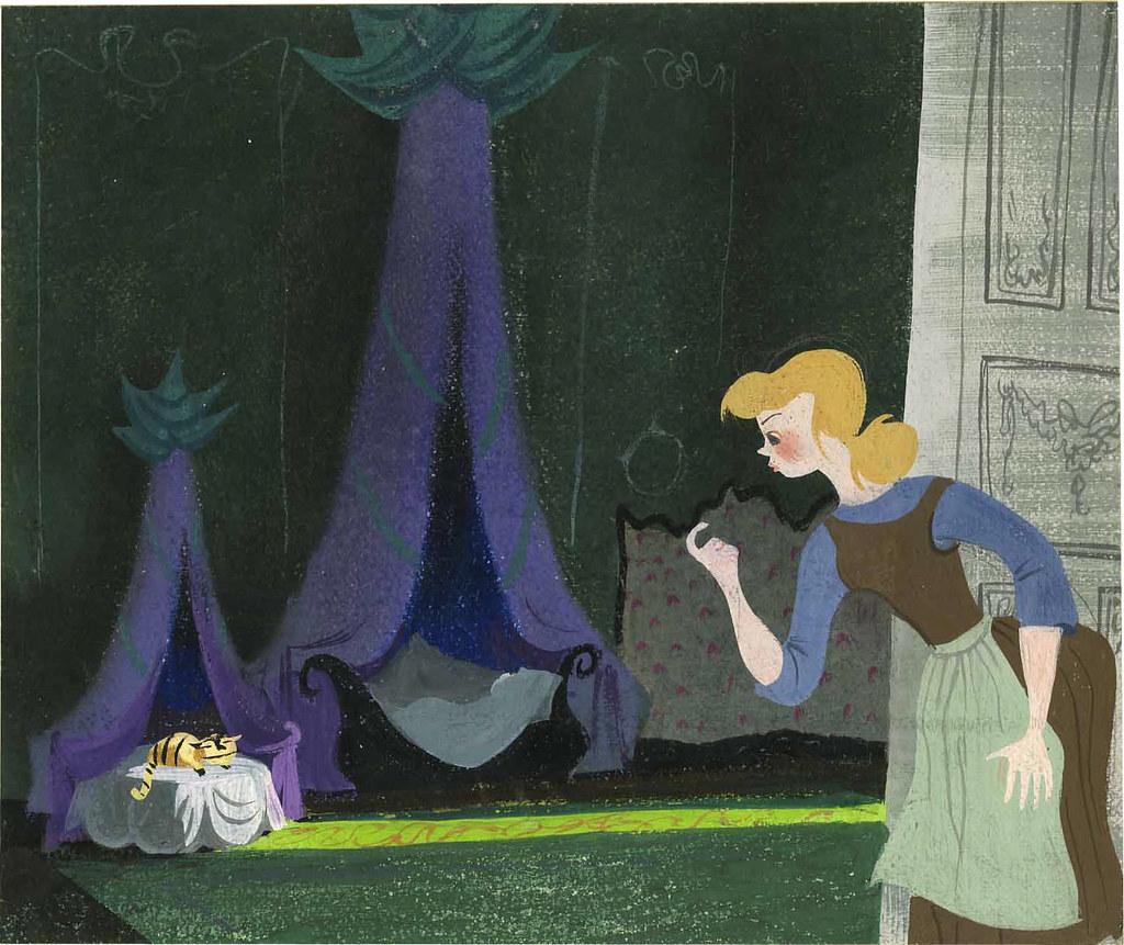 Lucifer Cinderella: Mary Blair - Cinderella - Lucifer