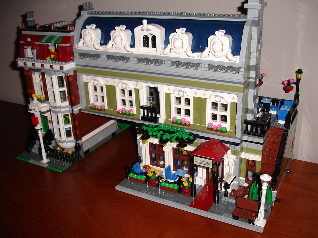 Progression on MOD Lego 10243 Parisian Restaurant XL   Flickr