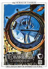 CARTEL TAMBORADA DE TOBARRA 2017