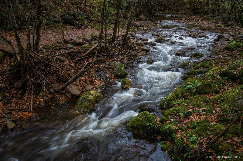 El Iñarbegi cerca de la Cascada de Xorroxin
