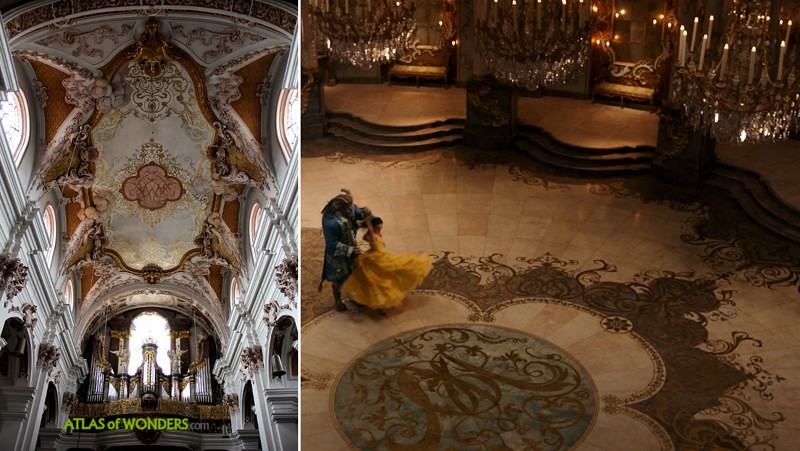 Beauty and the Beast filming locations