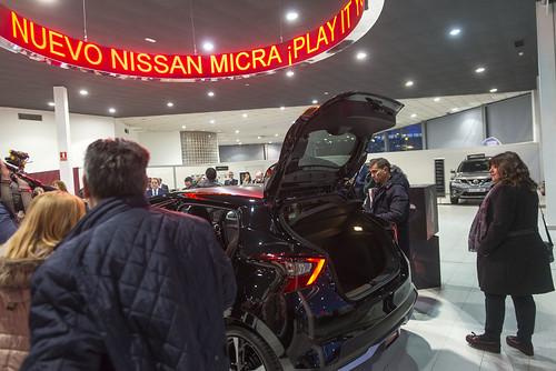 Presentación Micra en Nissan ARVESA
