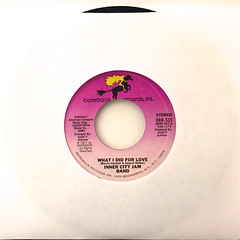 INNER CITY JAM BAND:WHAT I DID FOR LOVE(JACKET A)