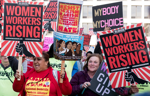Women Workers Rising rally | by vpickering