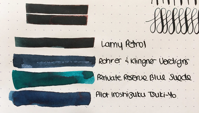 Ink Shot Review Lamy Petrol @Fontoplum0 @Lamy 5
