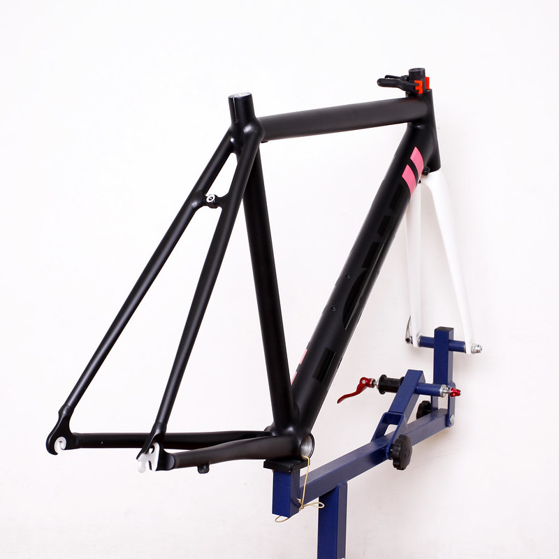 LOW Road Frame & ENVE Fork Repainted by Swamp Things.