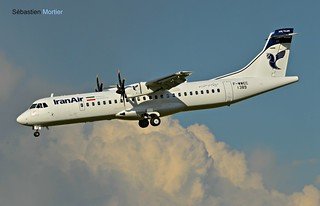 ATR.72-600 IRAN AIR F-WWEC 1389 TO EP-ITB 27 04 17 TLS