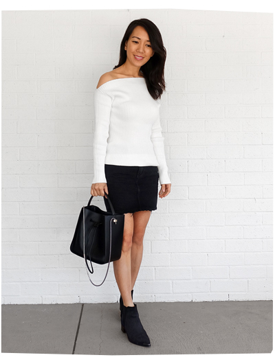 Marjorelle Sweater + 3.1 Phillip Lim Bag