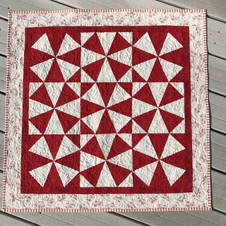 Kaleidoscope Winter Wallhanging | by msminnesota