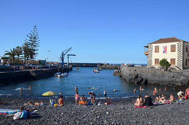 Maundy Thursday, Harbour, Puerto de la Cruz, Tenerife