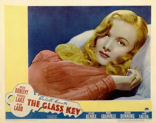 The Glass Key - lobbycard 4