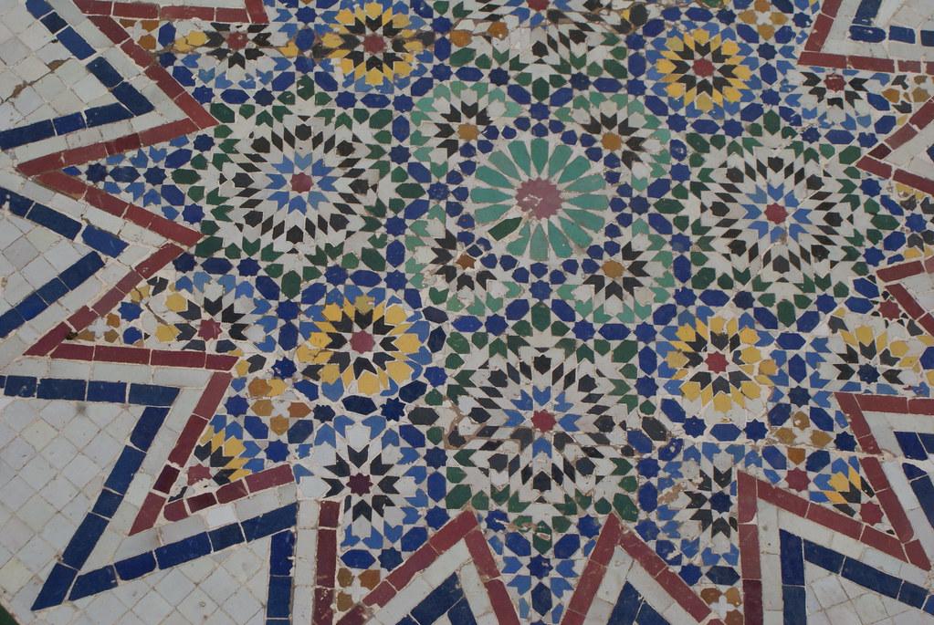 Un dernier joli motif du musée de Marrakech.