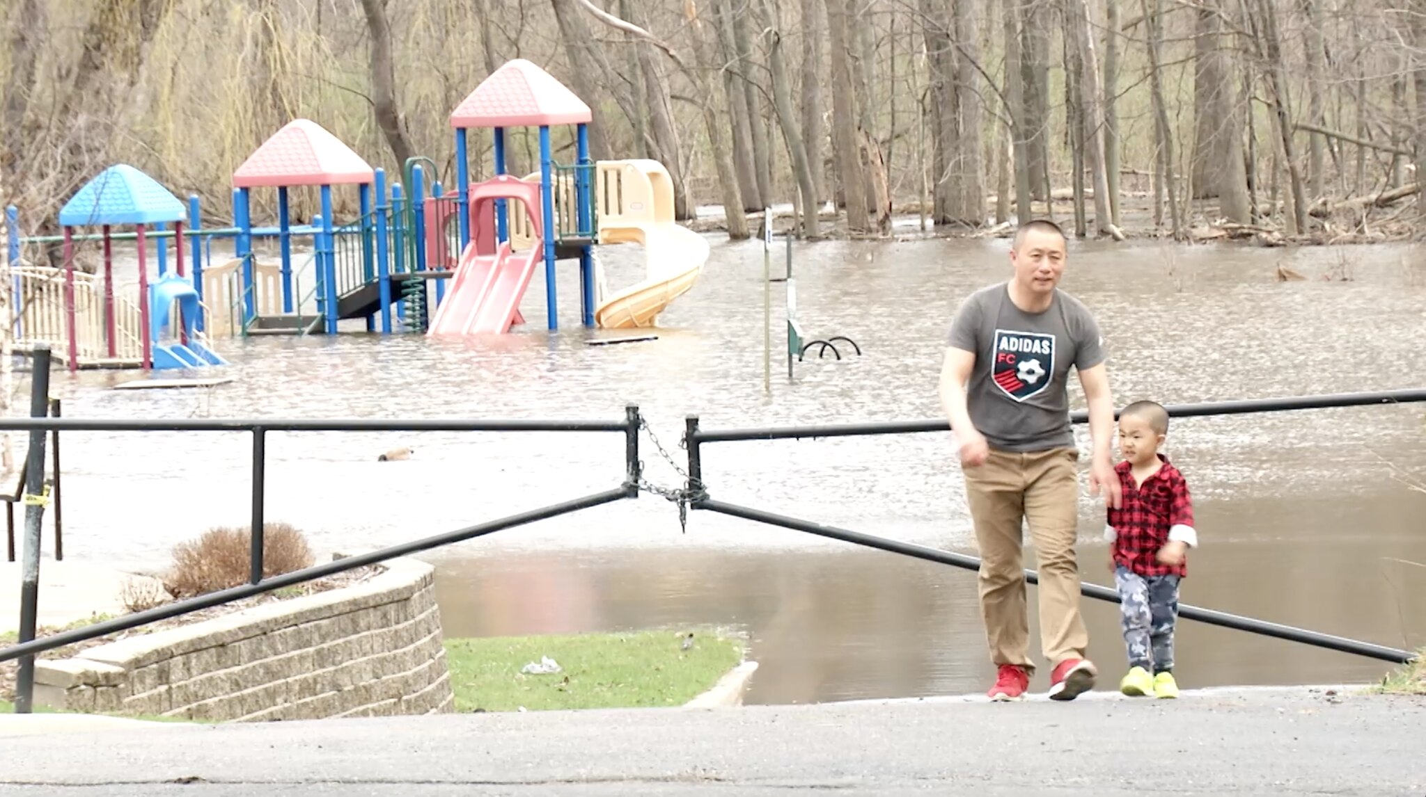 Red Cedar Rise Leads to Annual Flooding