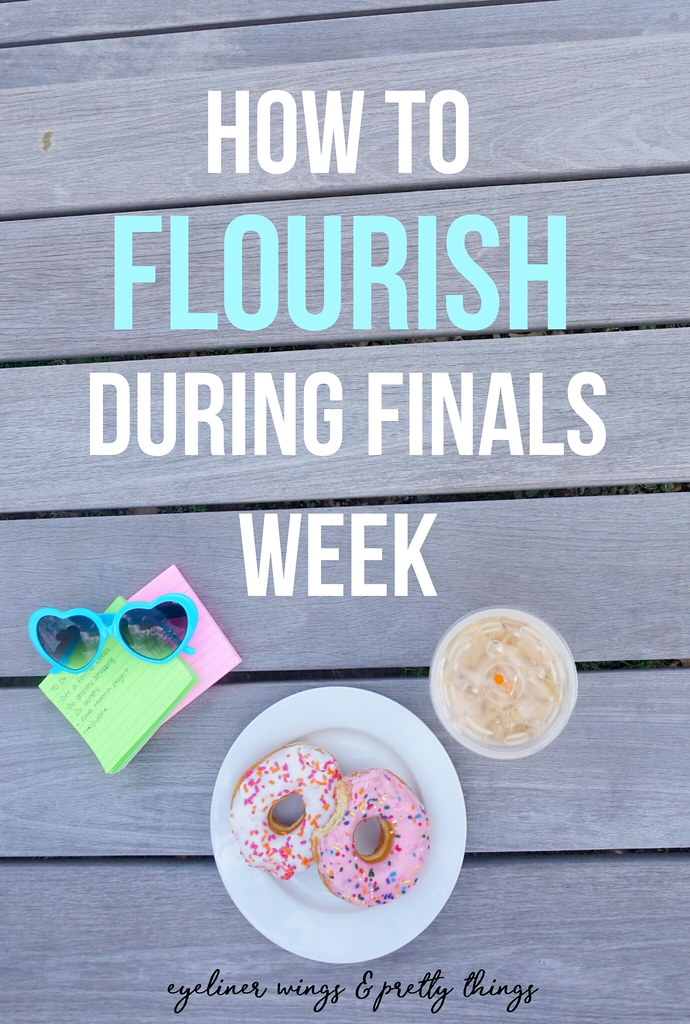 How to Thrive During Finals Week - College Finals Guide // ew & pt