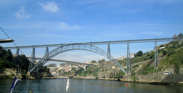 Maria Pia Bridge, Porto, Reverse View