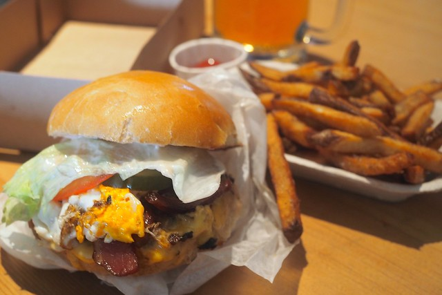 Monarch Burger | The American | Strathcona, Vancouver