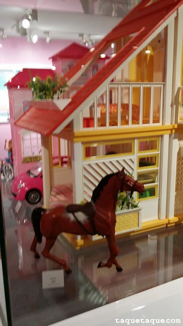 El caballo de Barbie