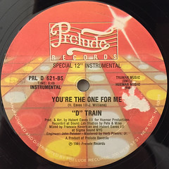D TRAIN:YOU'RE THE ONE FOR ME(LABEL SIDE-B)