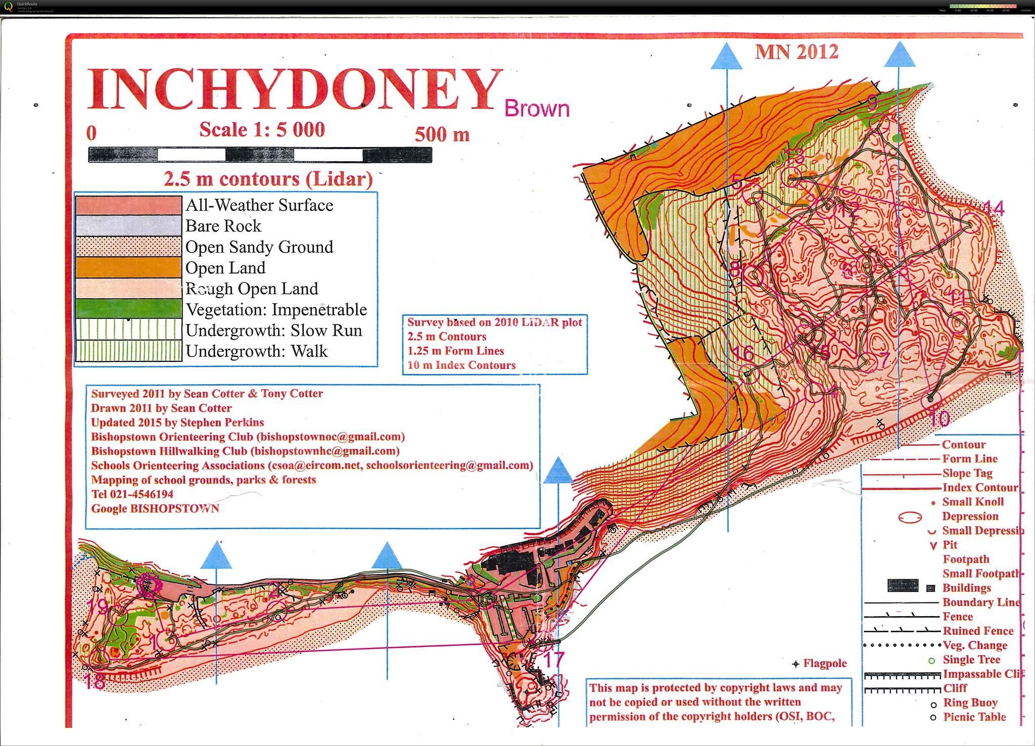 Inchydoney Beach Route
