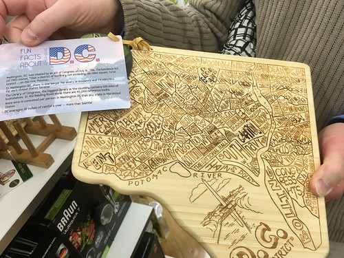 DC Cutting Board with facts