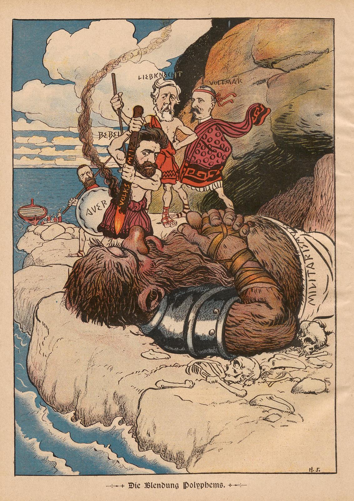 Hans Gabriel Jentzsch - The Glare Of Polyphemms, 1899