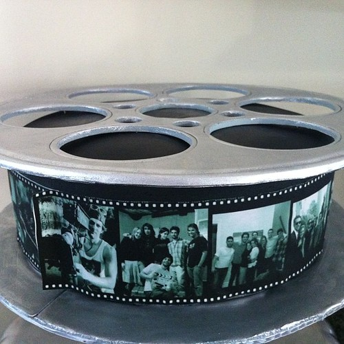 Cake With Photo Reel : MFA Film Reel Cake #cake #film #filmreel #mfa #newyorkfima? Flickr