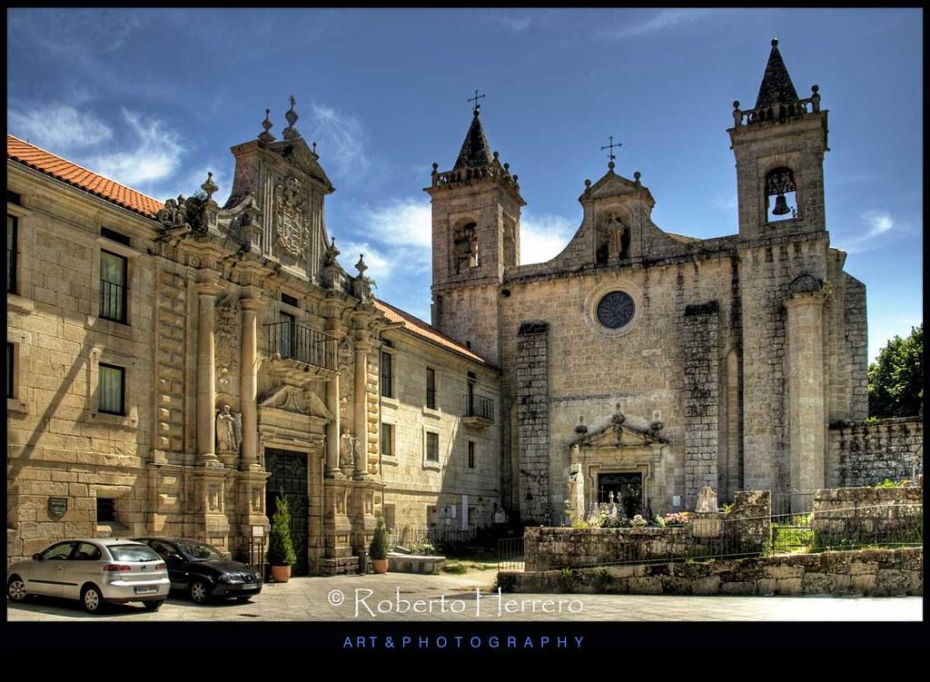 Monasterio de santo estevo ribeira sacra galicia view - Roberto herrero ...