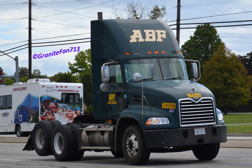 ... ABF Freight Mack Vision (2) | by Trucks, Buses, & Trains by