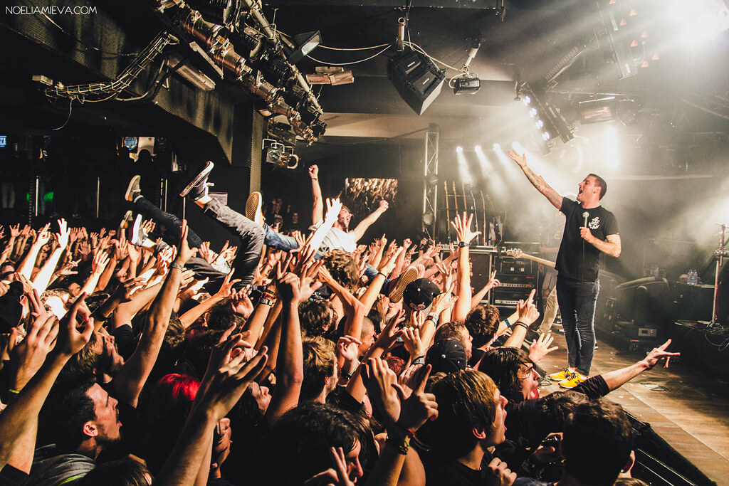 Parkway Drive Sala Pen 233 Lope Madrid Vans Off The Wall Mu Flickr
