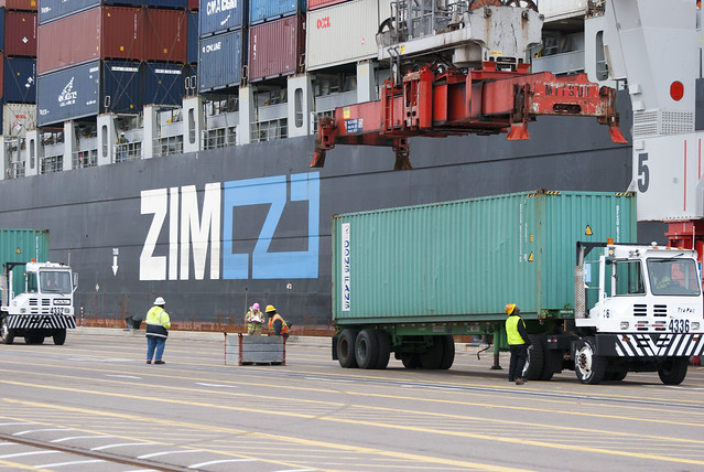 Zim Container Lines Long Beach Ca