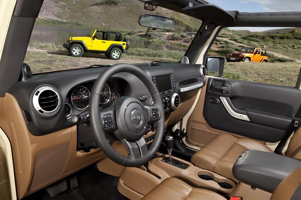 ... 2011 Jeep Wrangler Interior | By AlBargan