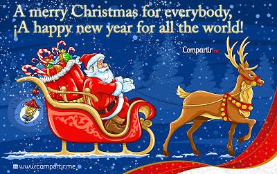 Imagenes de Navidad Con Frases en Ingles Con Frases de Navidad en