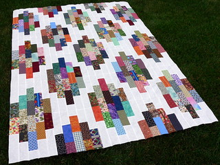 Scrappy Strip Stacks | by Deb@asimplelifequilts