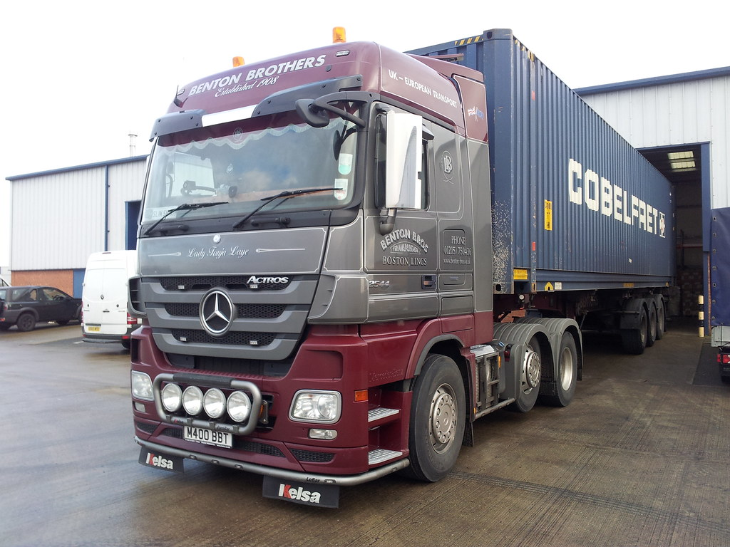 ... Mercedes Benz Actros Mp3 2544 Megaspace | by Actros2009
