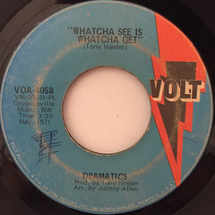 DRAMATICS:WHATCHA SEE IS WHATCHA GET(LABEL SIDE-A)