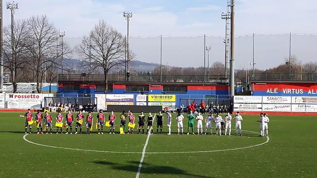 Virtus Verona-Cordenons 0-0, poche emozioni al Gavagnin