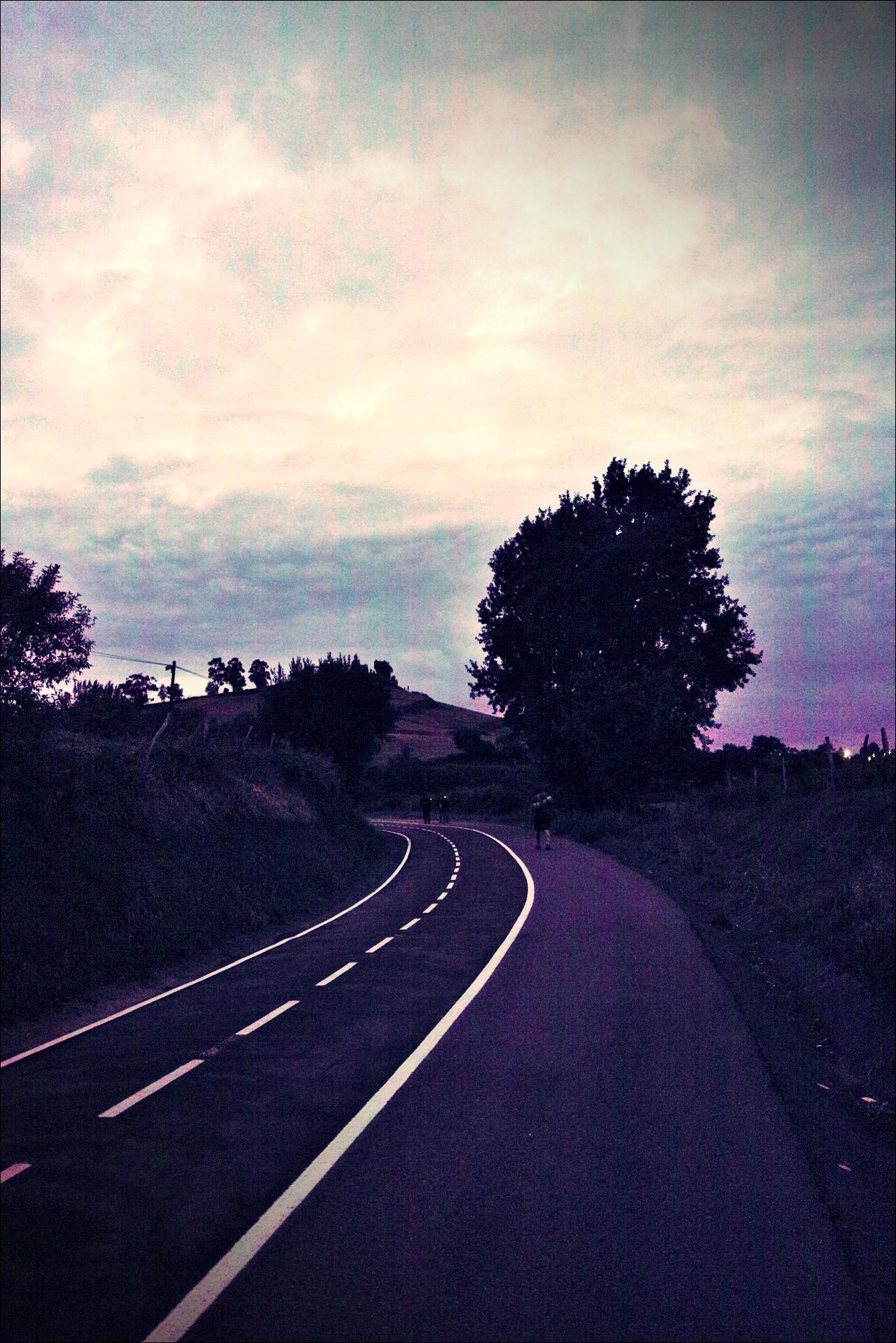 동 틀 무렵-'카미노 데 산티아고 북쪽길. 포르투갈레테에서 카스트로 우르디알레스. (Camino del Norte - Portugalete to Castro Urdiales) '