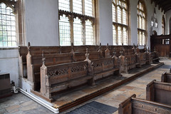 south aisle benches (15th Century)