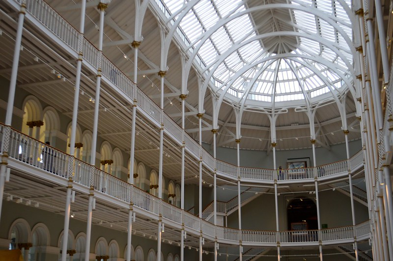 This is a photo of the central all in the national museum in edinburgh