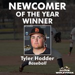Newcomer of the Year (Tyler Hodder)