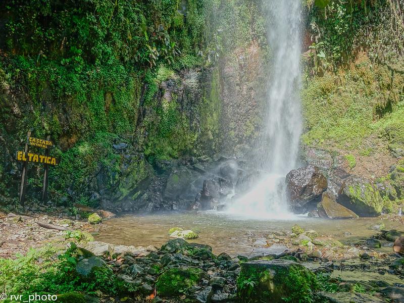 Cascada El Tatica, Boquete, Panamá